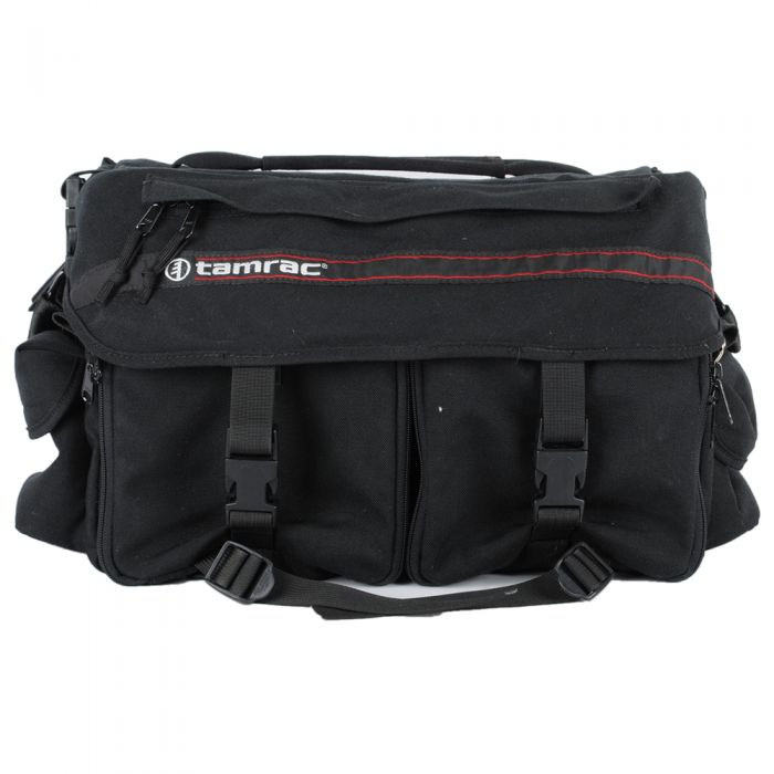 Tamrac   15X9X7 Black Cordura,3 Front,2 Side Pockets
