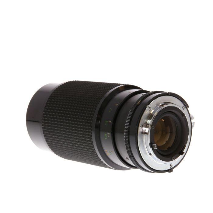 Vivitar 70-210mm F/3.5 Series 1 Macro AI/Zoom Loose Manual Focus Lens For Nikon {62}