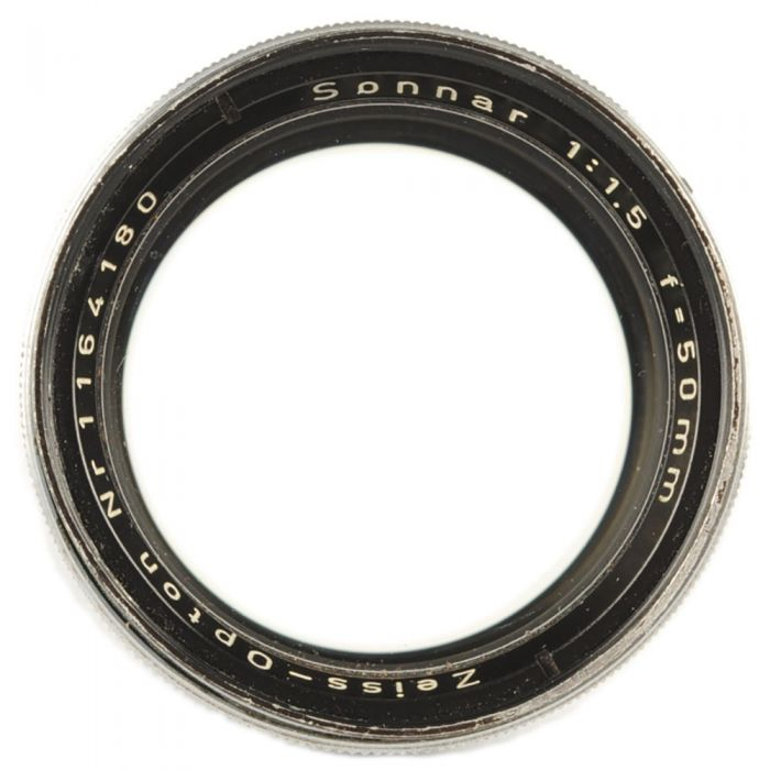 Zeiss 50mm f/1.5 Sonnar Opton Lens for Contax Rangefinder, Chrome {40.5}