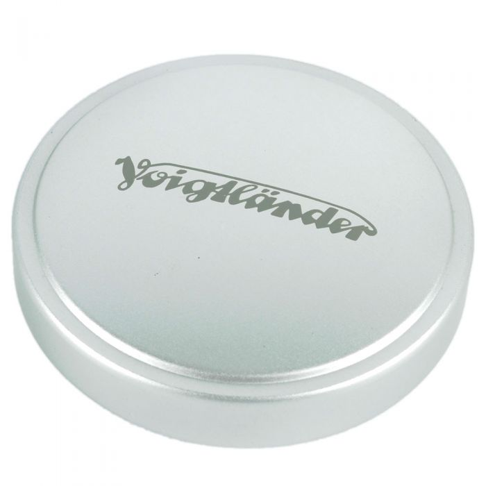 Voigtlander 44mm Front Lens Cap, Chrome, Metal, Push-On