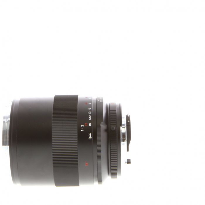 Zeiss 100mm F/2 Makro Planar ZF.2 T* (With CPU Contacts) Manual Focus Lens For Nikon {67}