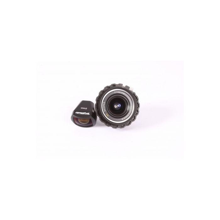 Voigtlander 21mm f/4 SC Skopar Lens for Nikon Rangefinder Camera {43}