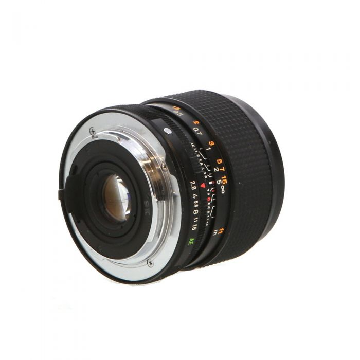 Konica 24mm f/2.8 (to f/16) Hexanon AE AR Mount Lens {55}