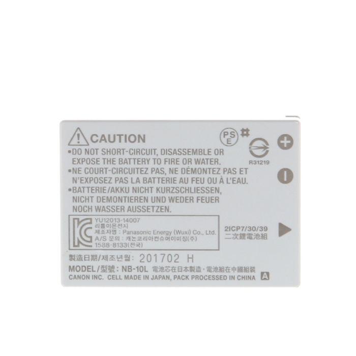 Canon Battery NB-10L (G1X/15/16,SX40/50)