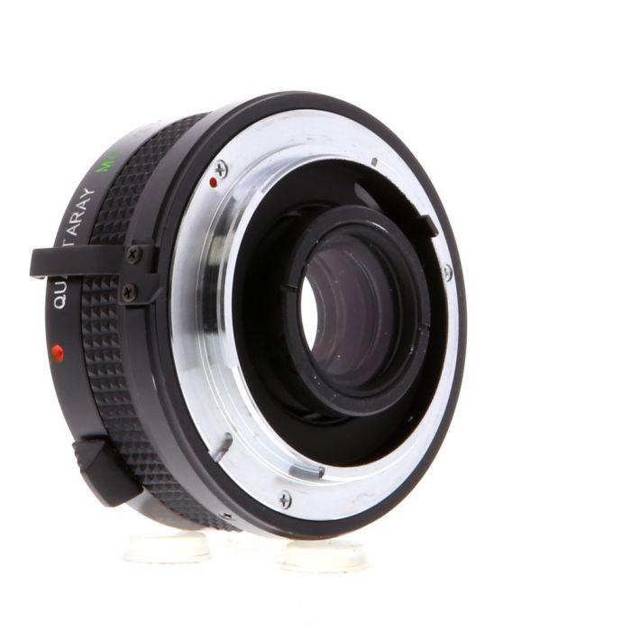 Quantaray 2X Teleconverter, for Nikon AI Mount
