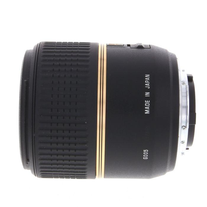 Tamron 60mm f/2 SP DI-II Macro Autofocus Lens for Nikon APS-C Sensor DSLR {55} G005