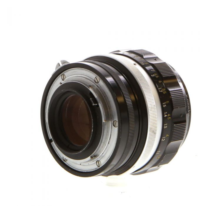 Nikon Nikkor 85mm F/1.8 H Non AI NPK Manual Focus Lens {52}