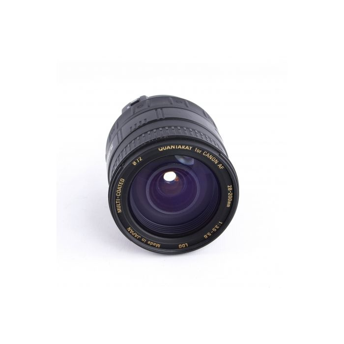 Quantaray 28-200mm F/3.5-5.6 Aspherical IF Lens For Canon EF Mount {62}