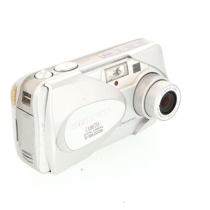 Olympus D-560 Zoom Digital Camera (Camera Only) {3.2 M/P}