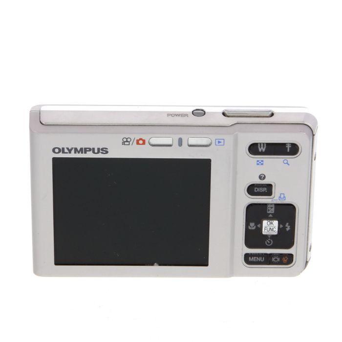 Olympus FE-360 Silver Digital Camera {8MP}