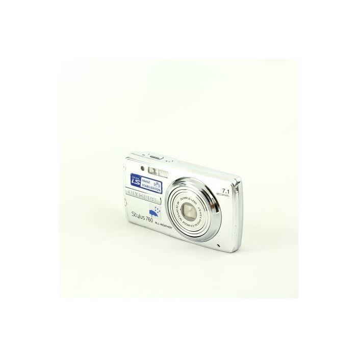 Olympus Stylus 760 AW Silver Digital Camera (Camera Only) {7.1 M/P}