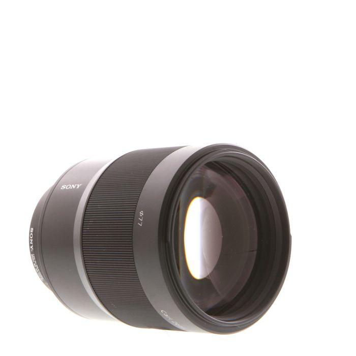 Sony 135mm F/1.8 Carl Zeiss Sonnar T* ZA Alpha Mount Autofocus Lens {77}
