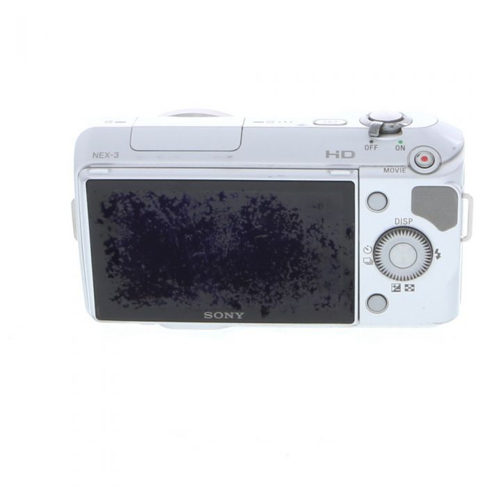 Sony NEX-3 Mirrorless Digital Camera Body, Silver {14.2MP}