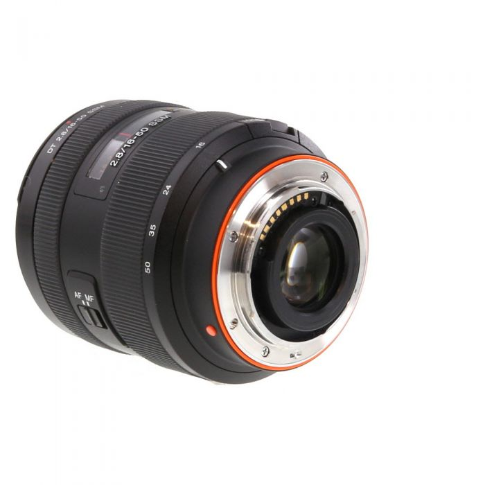 Sony 16-50mm F/2.8 DT SSM Alpha Mount Autofocus Lens {72}