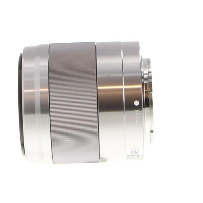 Sony 50mm F/1.8 E OSS E Mount Autofocus Lens, Silver (SEL50F18) {49}