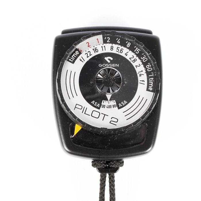 Gossen Pilot 2 Light Meter, Black