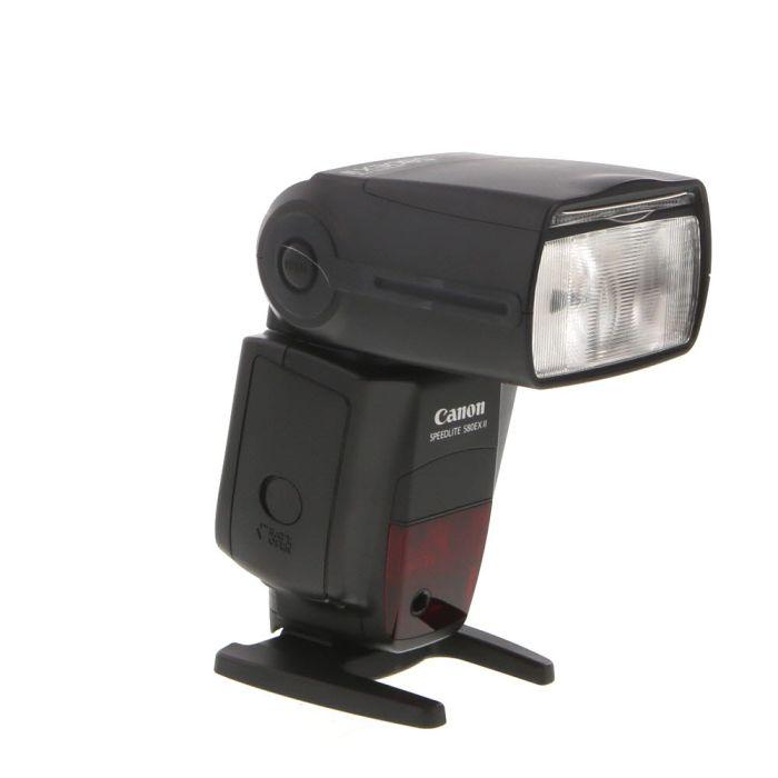 Canon 580 EX II Flash (Water Resistant) Speedlite [GN138] {Bounce, Swivel, Zoom}