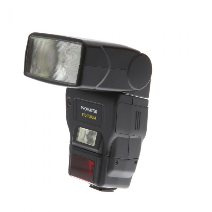 Promaster FTD 7000M Flash For Canon EOS [GN138] {Bounce, Swivel, Zoom}