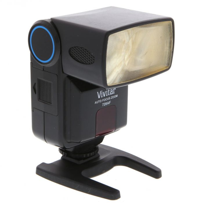 Vivitar 728AF Zoom Flash For Canon EOS [GN84] {Bounce, Zoom}