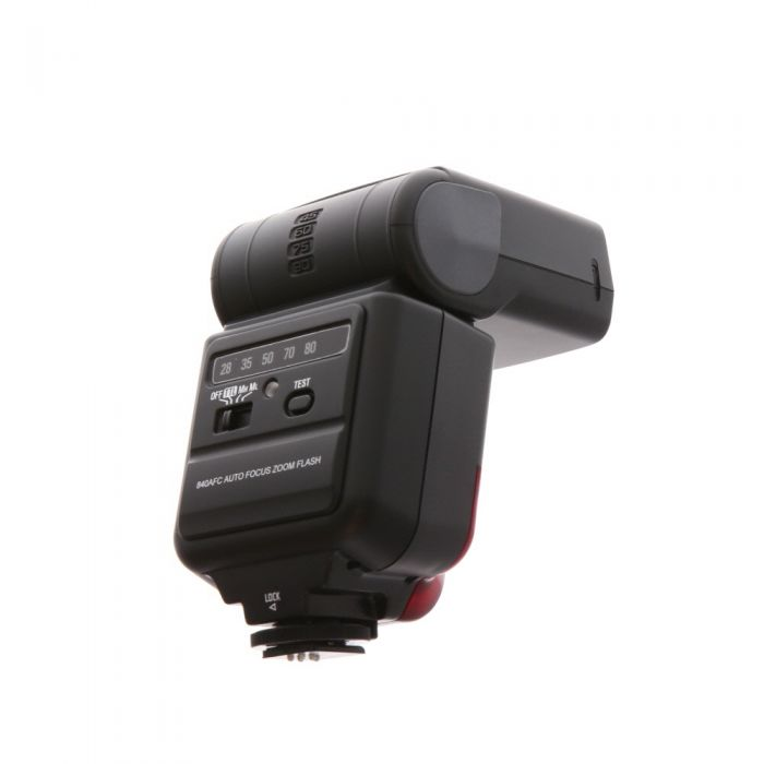 Vivitar 840AF Flash For Canon EOS [GN119] {Bounce, Zoom}
