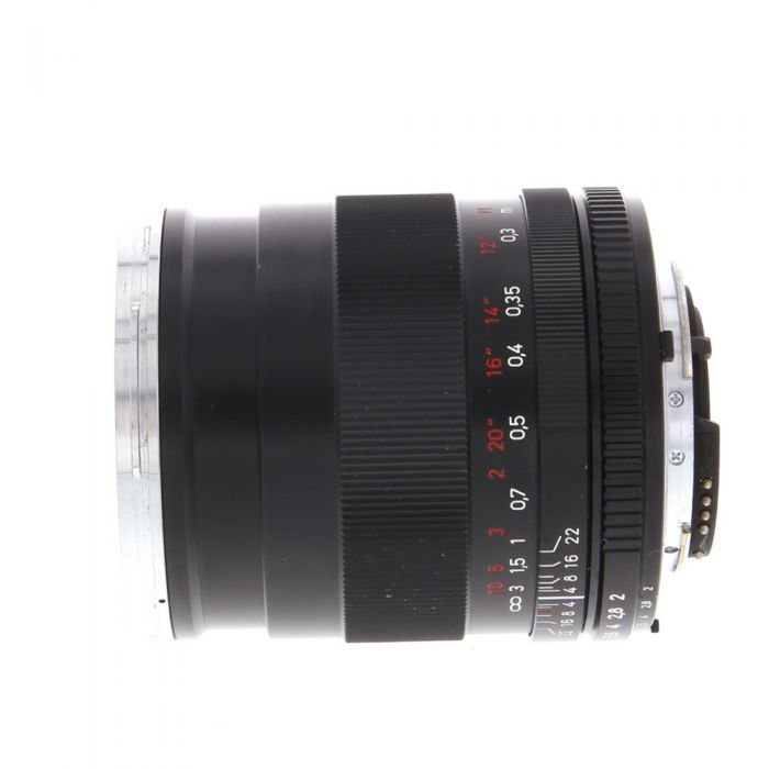 Zeiss 35mm f/2 Distagon T* (With CPU Contacts) AIS Manual Focus Lens for Nikon F-Mount, Black {58}