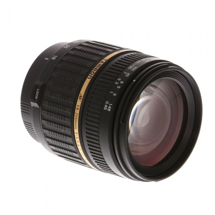 Tamron 18-200mm f/3.5-6.3 Aspherical DI II LD XR Macro Lens for Sony Alpha {62} A14