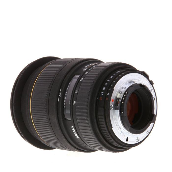 Sigma 24-70mm F/2.8 DG EX Macro AF Lens For Nikon {82}