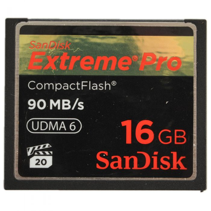 Sandisk 16GB 90 MB/Second UDMA 6 Extreme Pro Compact Flash [CF] Memory Card