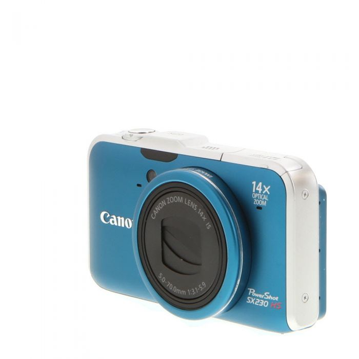 Canon Powershot SX230HS Digital Camera, Blue {12.1MP}