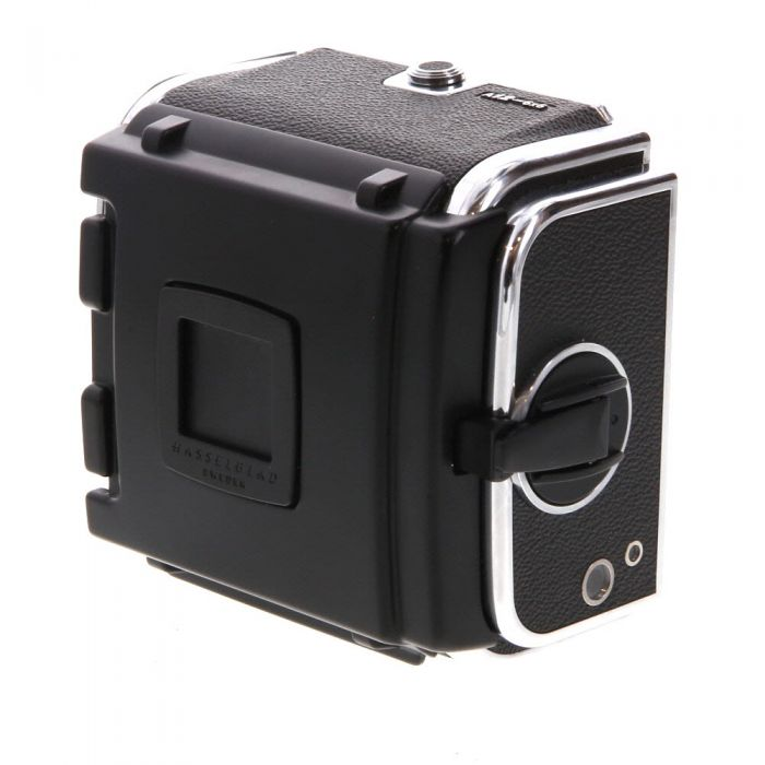 Hasselblad A12 120 Film Back, Chrome, Labeled \'6X6\', for V System