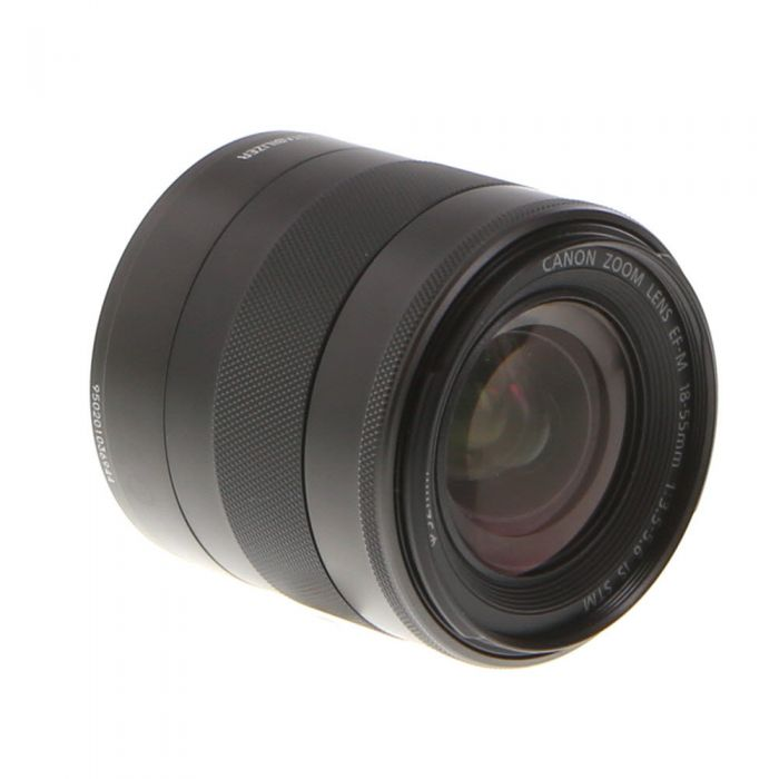 Canon 18-55mm f/3.5-5.6 IS STM EF-M Mount Lens For Canon Mirrorless Digital, Graphite Black {52}
