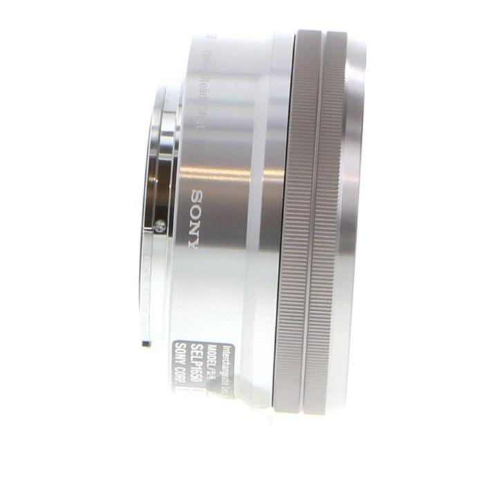Sony 16-50mm f/3.5-5.6 PZ OSS AF E-Mount Lens, Silver {40.5}