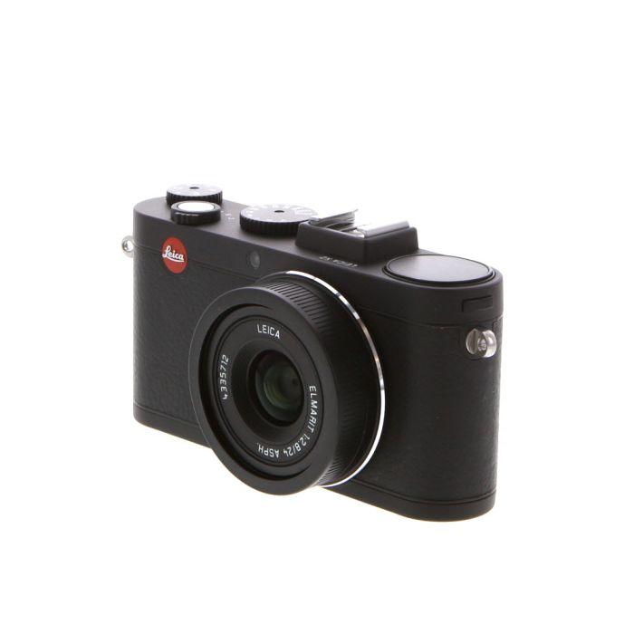 Leica X2 Digital Camera, Black {16.5MP} 18450