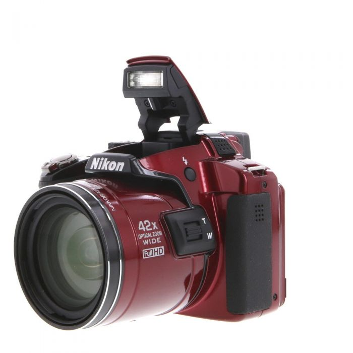 Nikon Coolpix P510 Digital Camera, Red {16.1MP}