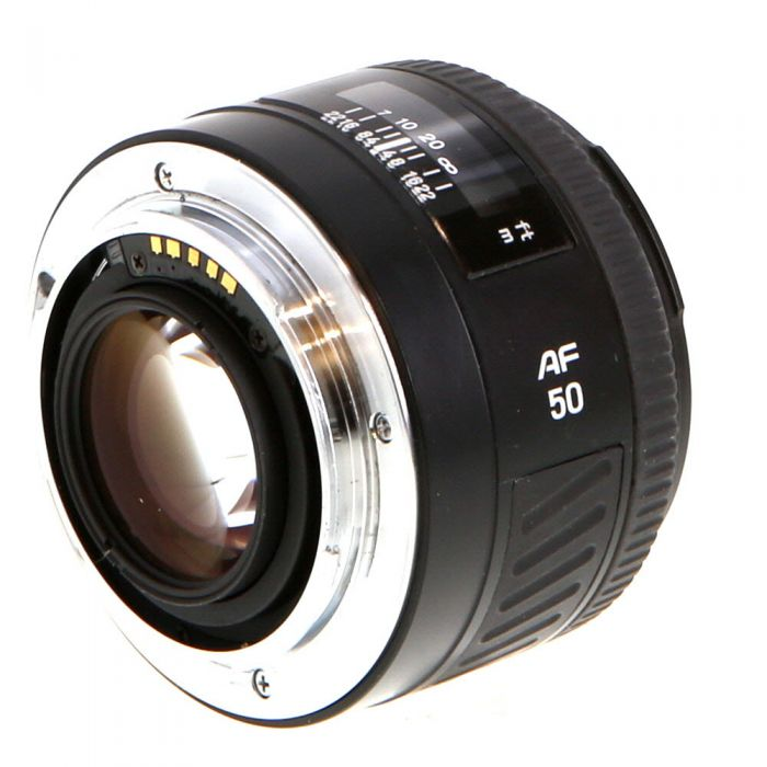 Minolta 50mm F/1.4 II Alpha Mount Autofocus Lens {55}