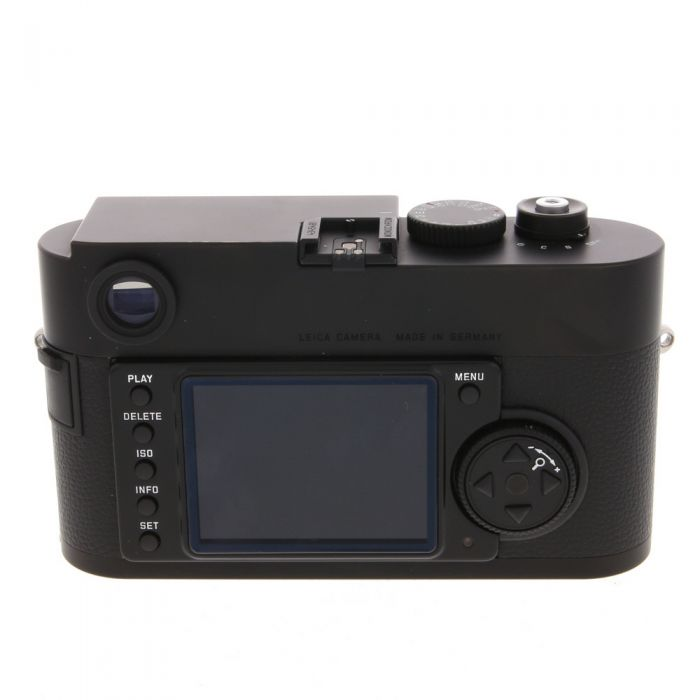 Leica M Monochrom Digital Camera Body, Black {18MP} Original Sensor
