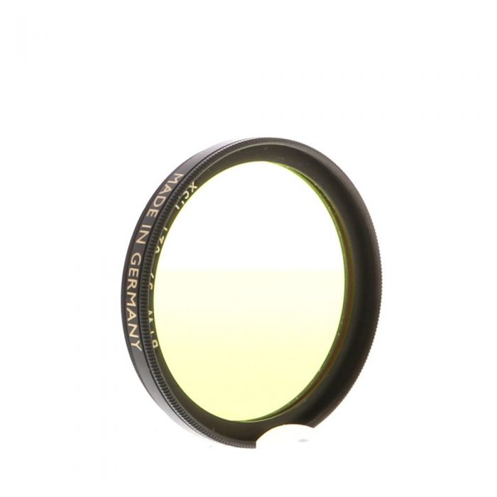 B+W 39mm Yellow Light 021 F-Pro Filter
