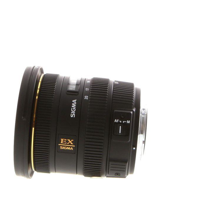 Sigma 10-20mm f/3.5 EX DC HSM Lens for Sony Alpha APS-C {82}