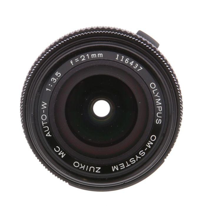 Olympus Zuiko 21mm F/3.5 MC OM Mount Manual Focus Lens {49}
