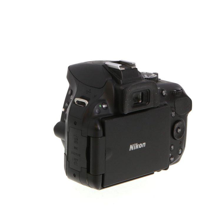 Nikon D5200 DSLR Camera Body, Black {24.1MP}