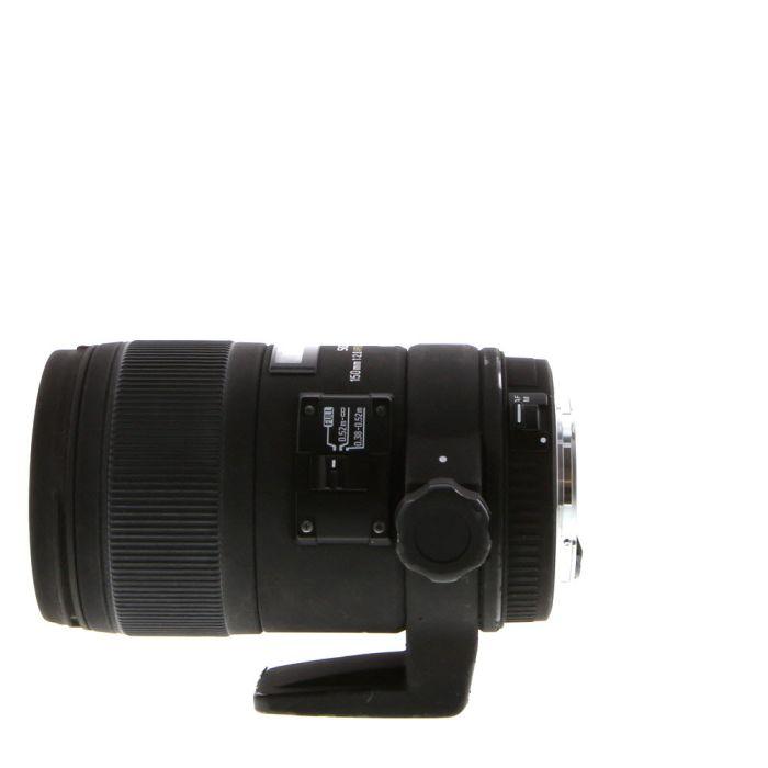 Sigma 150mm F/2.8 APO Macro IF EX DG HSM OS Lens For Canon EF Mount {72}