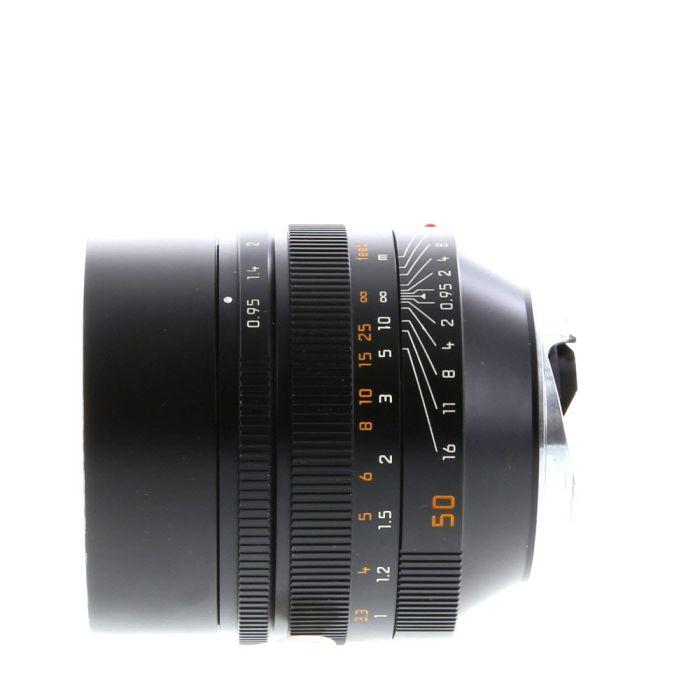 Leica 50mm f/.95 Noctilux-M ASPH. M-Mount Lens, Black, 6-Bit {60} 11602