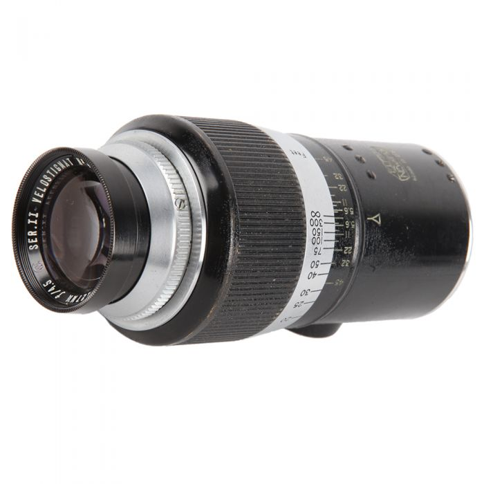 Wollensak 127mm F/4.5 Velostigmat Series II Manual Focus Lens For Leica Screw Mount {33.5}