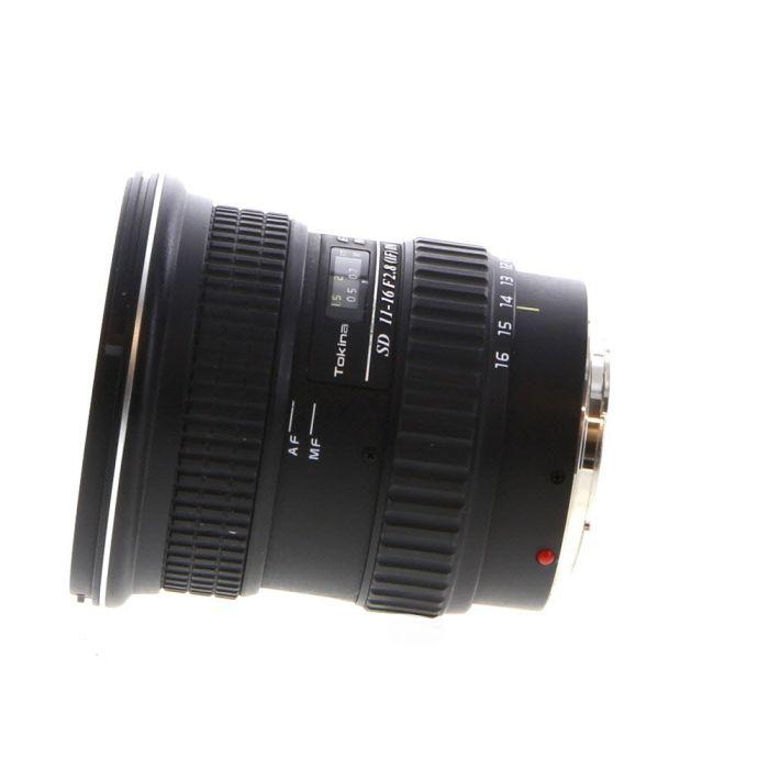 Tokina 11-16mm F/2.8 AT-X Pro SD IF DX (APS-C) 5-Pin Lens For Minolta Alpha Mount APS-C Sensor DSLRS {77}