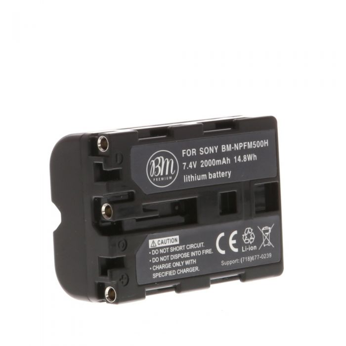 Miscellaneous Brand NP-FM500H Battery (for Sony Alpha DSLR)