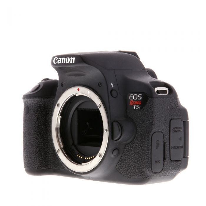 Canon EOS Rebel T5I DSLR Camera Body {18MP}