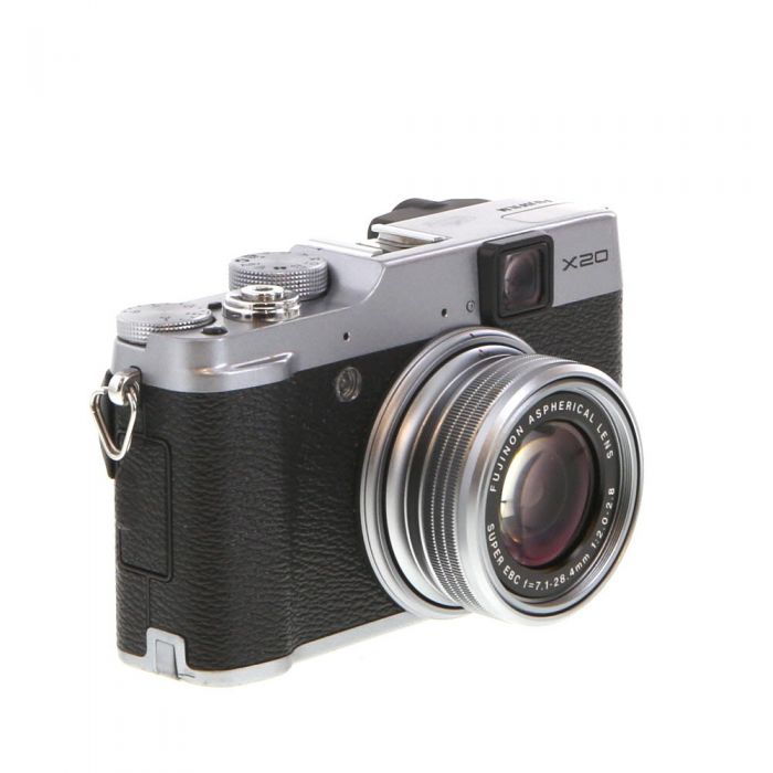 Fujifilm X20 Digital Camera, Silver {12MP}