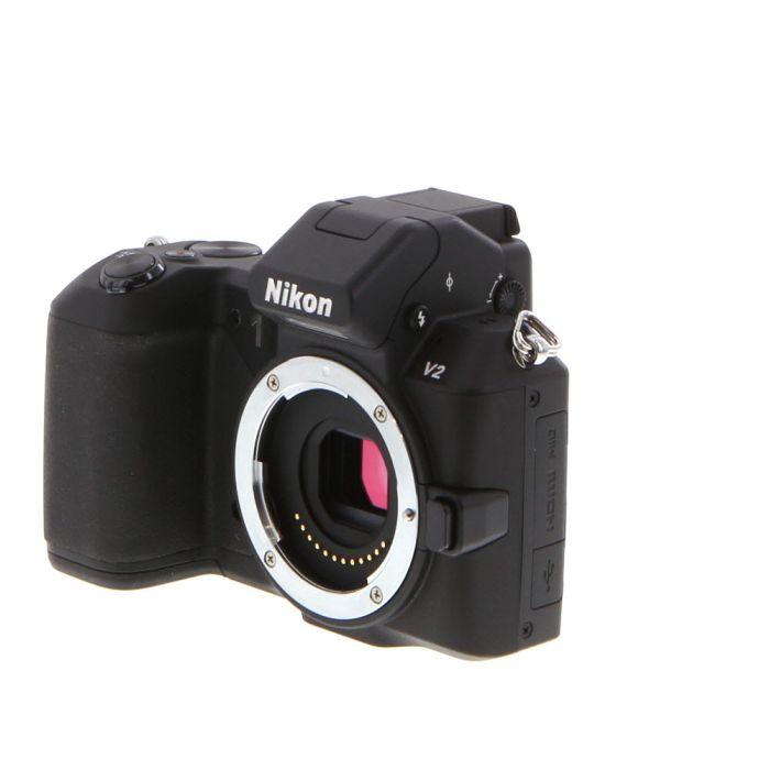 Nikon 1 V2 Mirrorless Digital Camera Body, Black {14.2MP}