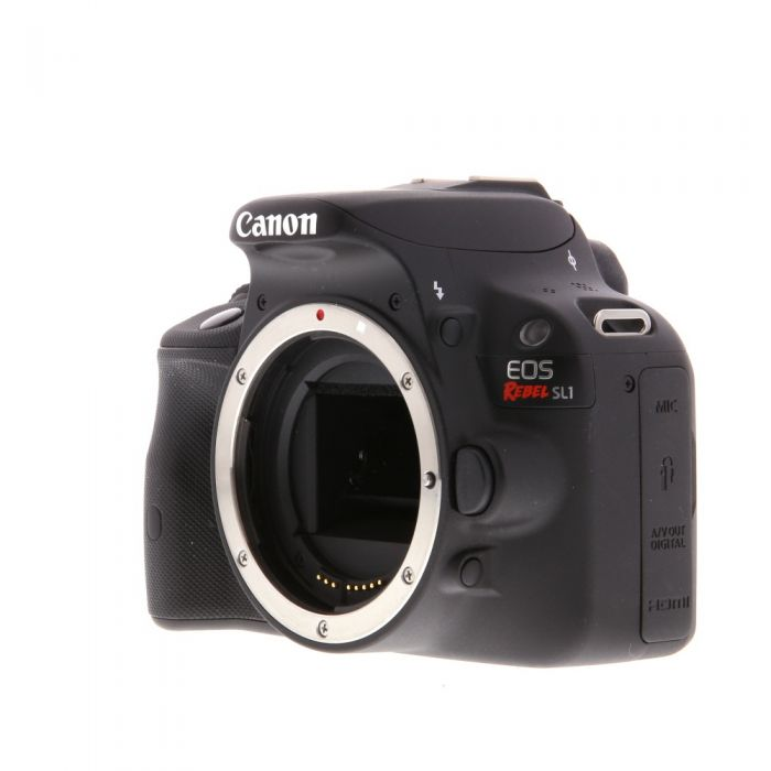 Canon EOS Rebel SL1 Black Digital SLR Camera Body {18 M/P}