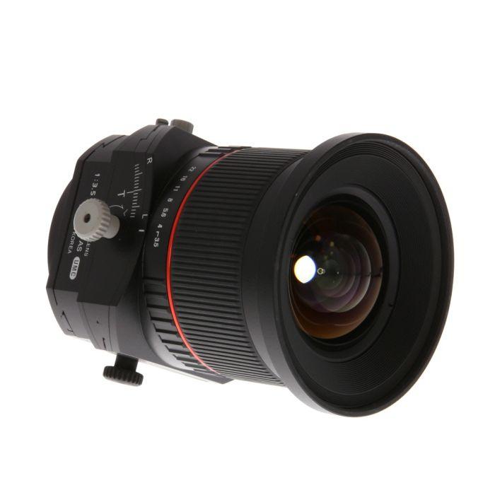 Rokinon 24mm f/3.5 Tilt-Shift ED AS UMC Manual Lens for Canon EF-Mount {82}